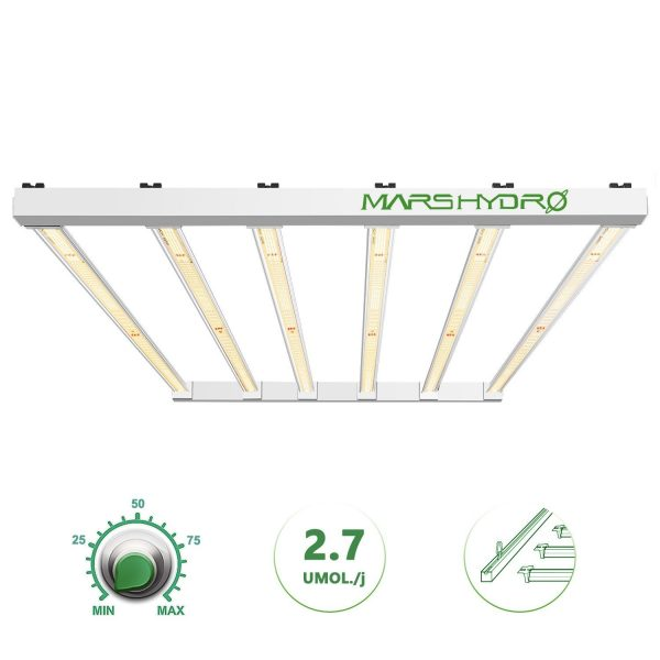 Mars Hydro FC-E4800 led grow light with removable bars