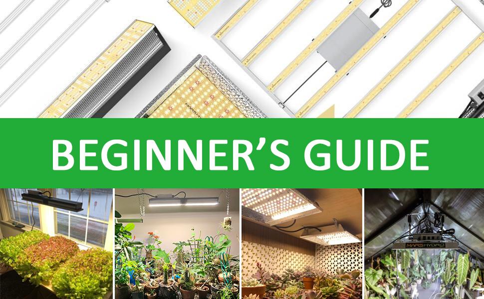 Beginner's guide- How to choos eled grow light-Mars Hydro blog